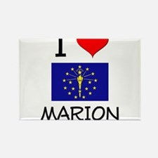 I Love MARION Indiana Magnets