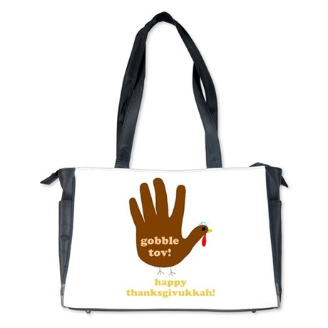 gobble tov! diaper bag