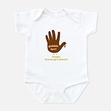 gobble tov! infant body suit/onesie