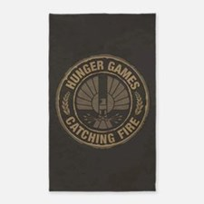 Catching Fire Capitol Logo 3'x5' Area Rug
