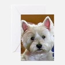 WESTIE ACCENTS Greeting Card