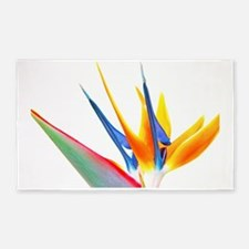 Bird of Paradise Flower 3'x5' Area Rug