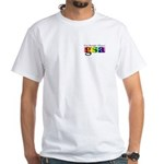GSA Pocket Classic White T-Shirt