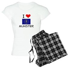 I Love MUNSTER Indiana Pajamas