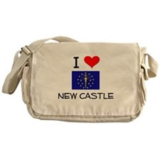I Love NEW CASTLE Indiana Messenger Bag