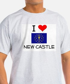 I Love NEW CASTLE Indiana T-Shirt
