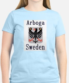 The Arboga Store Women's Pink T-Shirt
