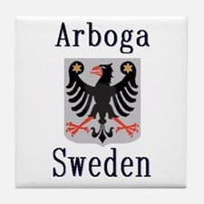 The Arboga Store Tile Coaster