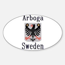 The Arboga Store Oval Decal