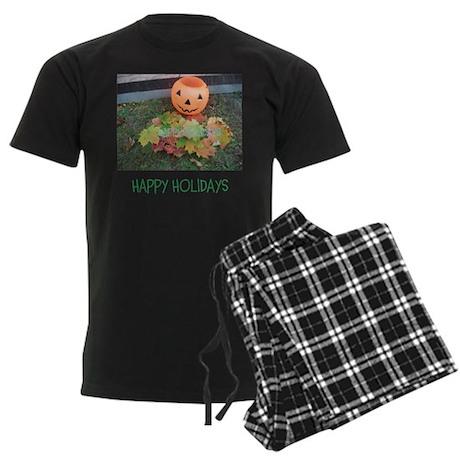 HAPPY HOLIDAYS LEAF PUMPKIN. Pajamas