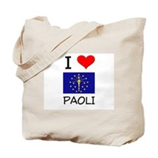 I Love PAOLI Indiana Tote Bag