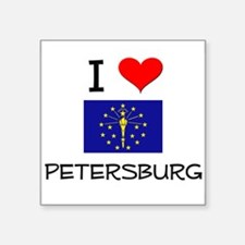 I Love PETERSBURG Indiana Sticker
