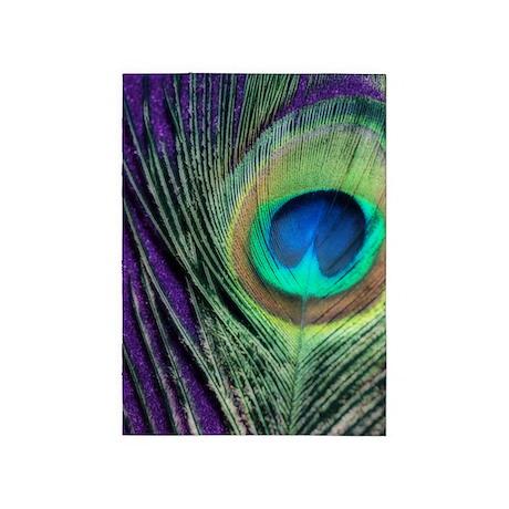 Peacock Purple Orton 5'x7'Area Rug