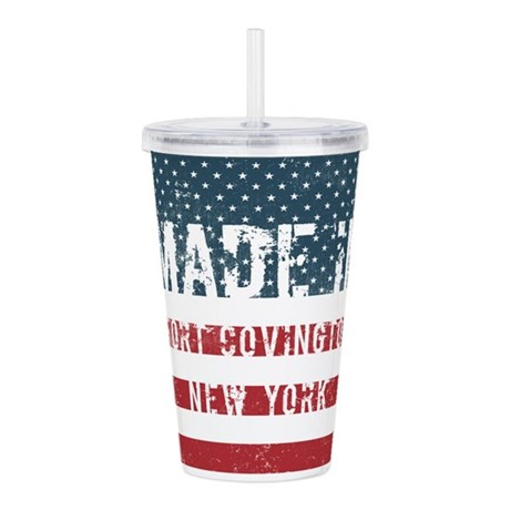 Made in Fort Covington Acrylic Double-wall Tumbler