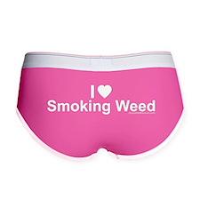 Smoking Weed Women's Boy Brief