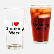 Smoking Weed Drinking Glass