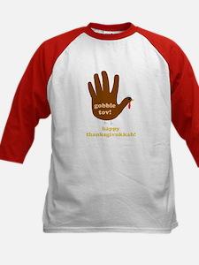 gobble tov! kids baseball jersey t-shirt