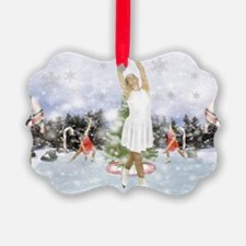 Dancing On Ice Ornament