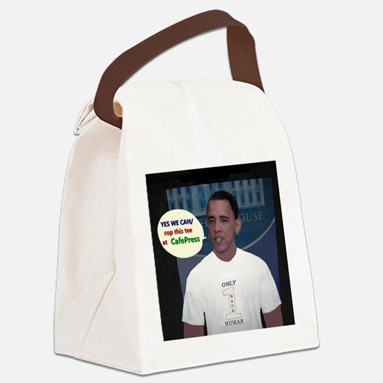 YES WE CAN/cop this tee Canvas Lunch Bag