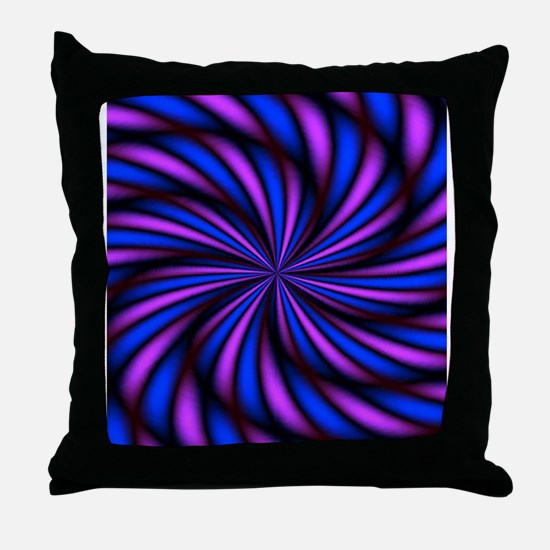 Psychedelic 16 Throw Pillow