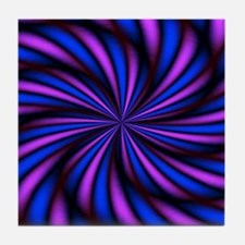 Psychedelic 16 Tile Coaster