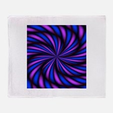 Psychedelic 16 Throw Blanket