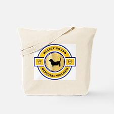 Hound Walker Tote Bag