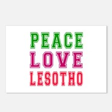 Peace Love Lesotho Postcards (Package of 8)