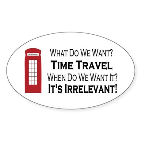 Time Travel Sticker