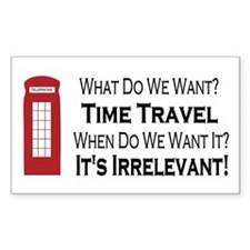 Time Travel Decal