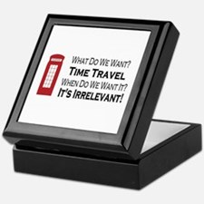 Time Travel Keepsake Box
