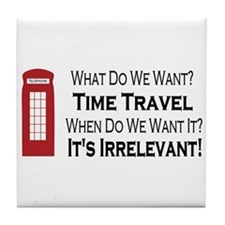 Time Travel Tile Coaster