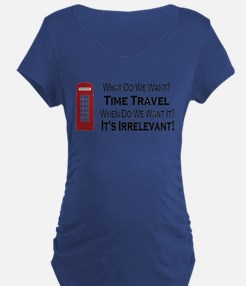 Time Travel Maternity T-Shirt