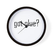 Got Glue? - Crafty Wall Clock