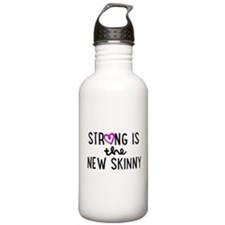 Strong is the New Skinny Girly Water Bottle