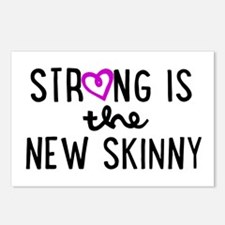 Strong is the New Skinny Girly Postcards (Package