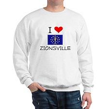 I Love ZIONSVILLE Indiana Jumper