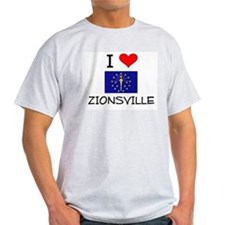 I Love ZIONSVILLE Indiana T-Shirt