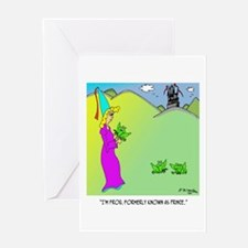 Frog, Formerly Known as Prince Greeting Card