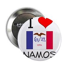 """I Love Anamosa Iowa 2.25"""" Button"""