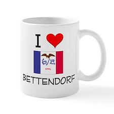 I Love Bettendorf Iowa Mugs
