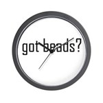 Got Beads? Wall Clock