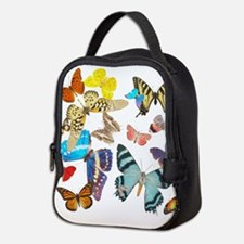 Beautiful Butterflies Neoprene Lunch Bag
