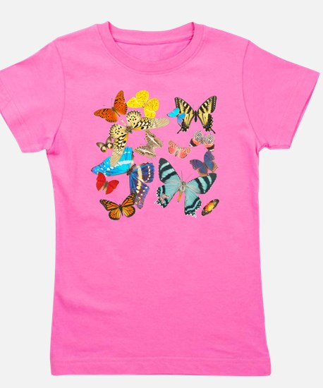 Beautiful Butterflies Girl's Tee
