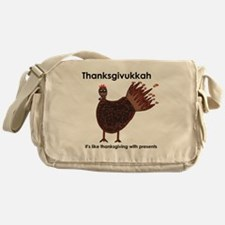 Thanksgivukkah Messenger Bag