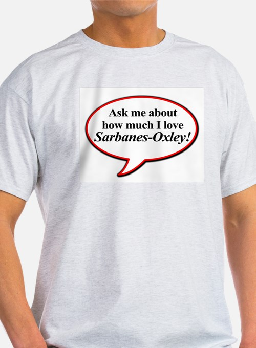Ask me about Ash Grey T-Shirt