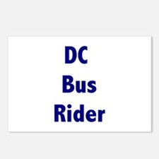DC Bus Rider Postcards (Package of 8)
