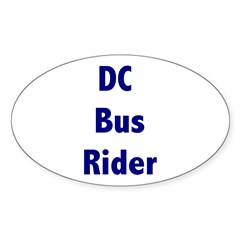 DC Bus Rider Decal