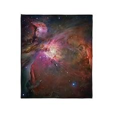 Orion Nebula Throw Blanket