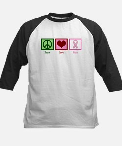 Peace Love Cure (pink) Tee